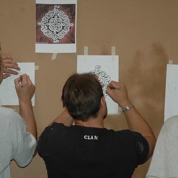 Formation Professionnelle Peinture Murale par Atelier de Peintures Naturelles 03