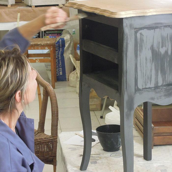 Formation Professionnelle Patines Matières 100% Naturelles par Atelier de Peintures Naturelles 06