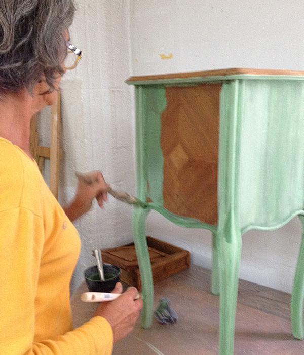 Formation Professionnelle Patines Matières 100% Naturelles par Atelier de Peintures Naturelles 24