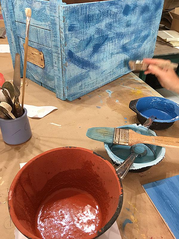 paris formation peintures et patines sur bois module 2. Black Bedroom Furniture Sets. Home Design Ideas