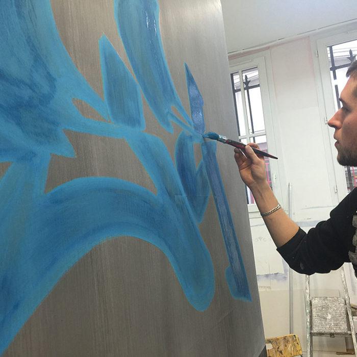 Formation Professionnelle Peinture Murale par Atelier de Peintures Naturelles 10