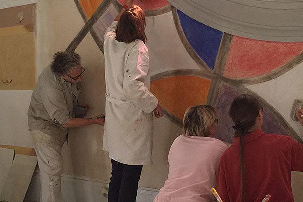 Formation Professionnelle Peinture Murale par Atelier de Peintures Naturelles 17