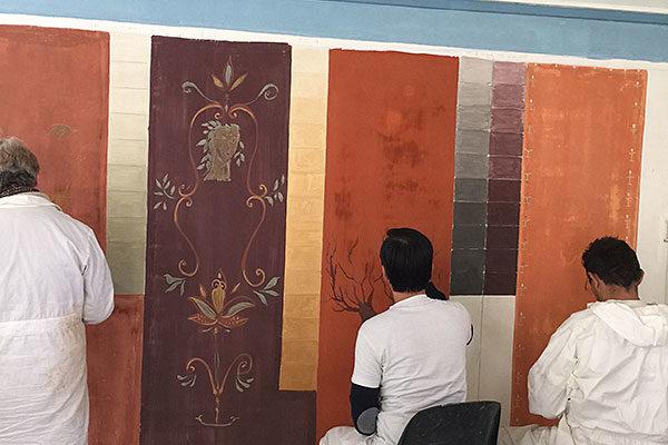 Formation Professionnelle Peinture Murale par Atelier de Peintures Naturelles